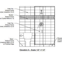 Kitchen Planning Tool White Washed Table Elevation Drawing
