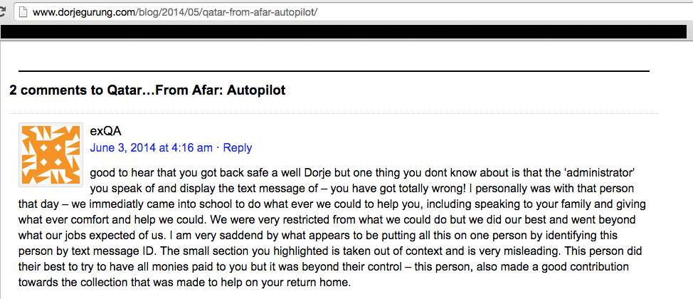 autopilot comment from ex-QA