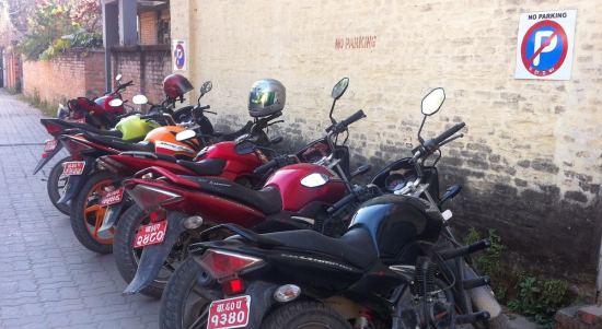(No) Parking in Kathmandu!