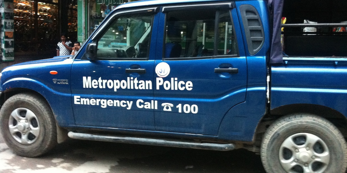metropolitan police pick up truck-feat image