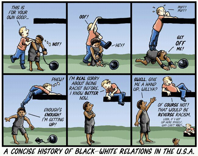 black-white race relations history
