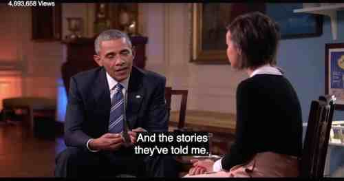 "President Barak Obama: ""People I Have Met and Their Stories"""