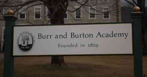 Burr & Burton Academy: Success…What you Make of Life