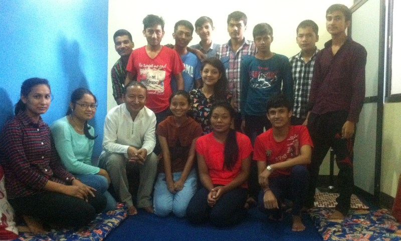 2016-08-10 with samaanta foundation fellows 1