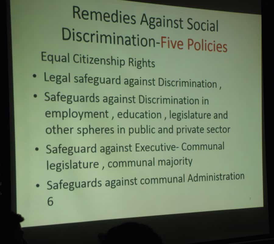 sukdeo presentation 5 policies 317