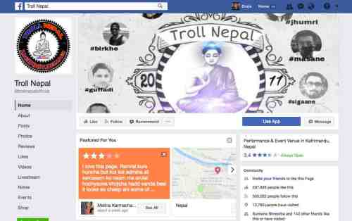 Troll Nepal: Like Name, Like Post