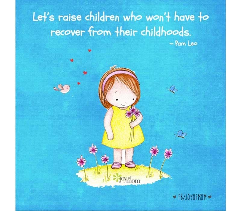 Image result for children who won't have to recover from their childhoods