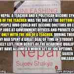 Unleashing Nepal: The Power of Education