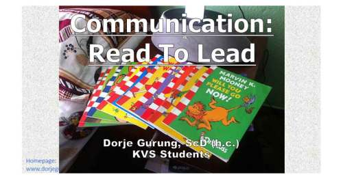 KVS: Read To Lead