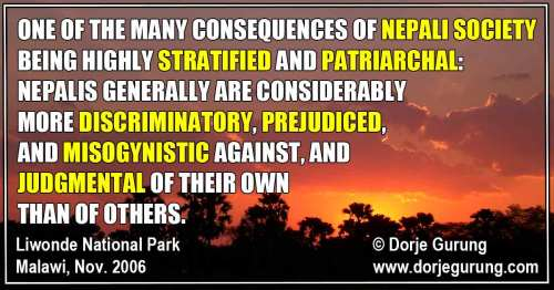 When Nepalis Use the Caste System to Make Others Suffer…with an Exception