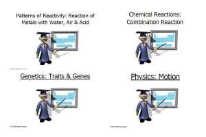 Form 3 Science PowerPoint Slides