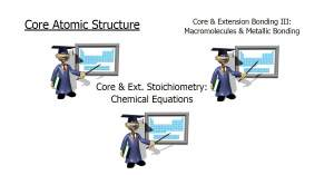 IGCSE Chemistry PowerPoint Slides