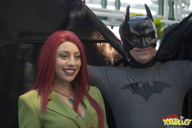 Batman and Poison Ivy. Photo by Neil Bui.