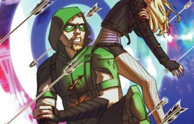 Green Arrow #12 Cover. Courtesy of DC Comics.