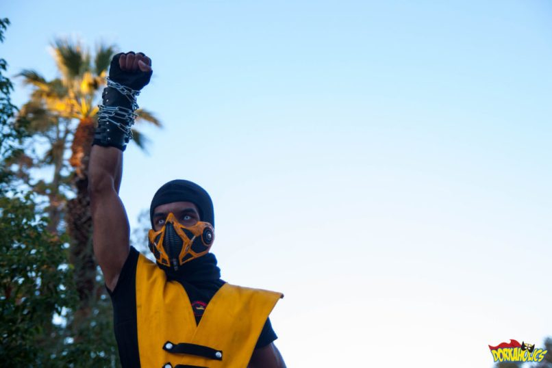 instagram.com/scorpioncosplay as Scorpion from Mortal Kombat. Photo by Neil Bui.