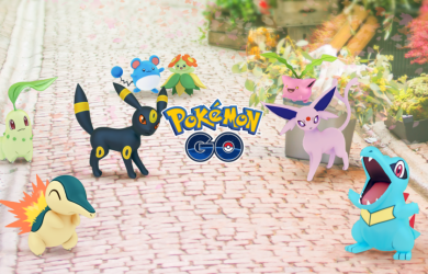 Some of the Pokémon from the Johto region now available in Pokémon Go.