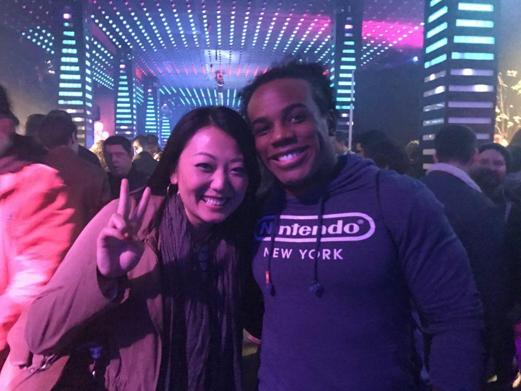 Kat meets Xavier Woods, the WWE New Day wrestler.