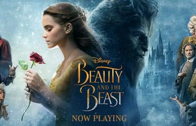 Disney's Beauty and the Beast is now playing.