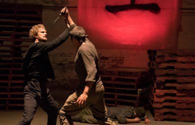 Finn Jones as Danny Rand / Iron Fist.