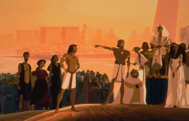 A scene from the 1998 film The Prince of Egypt. Credit DreamWorks Pictures.