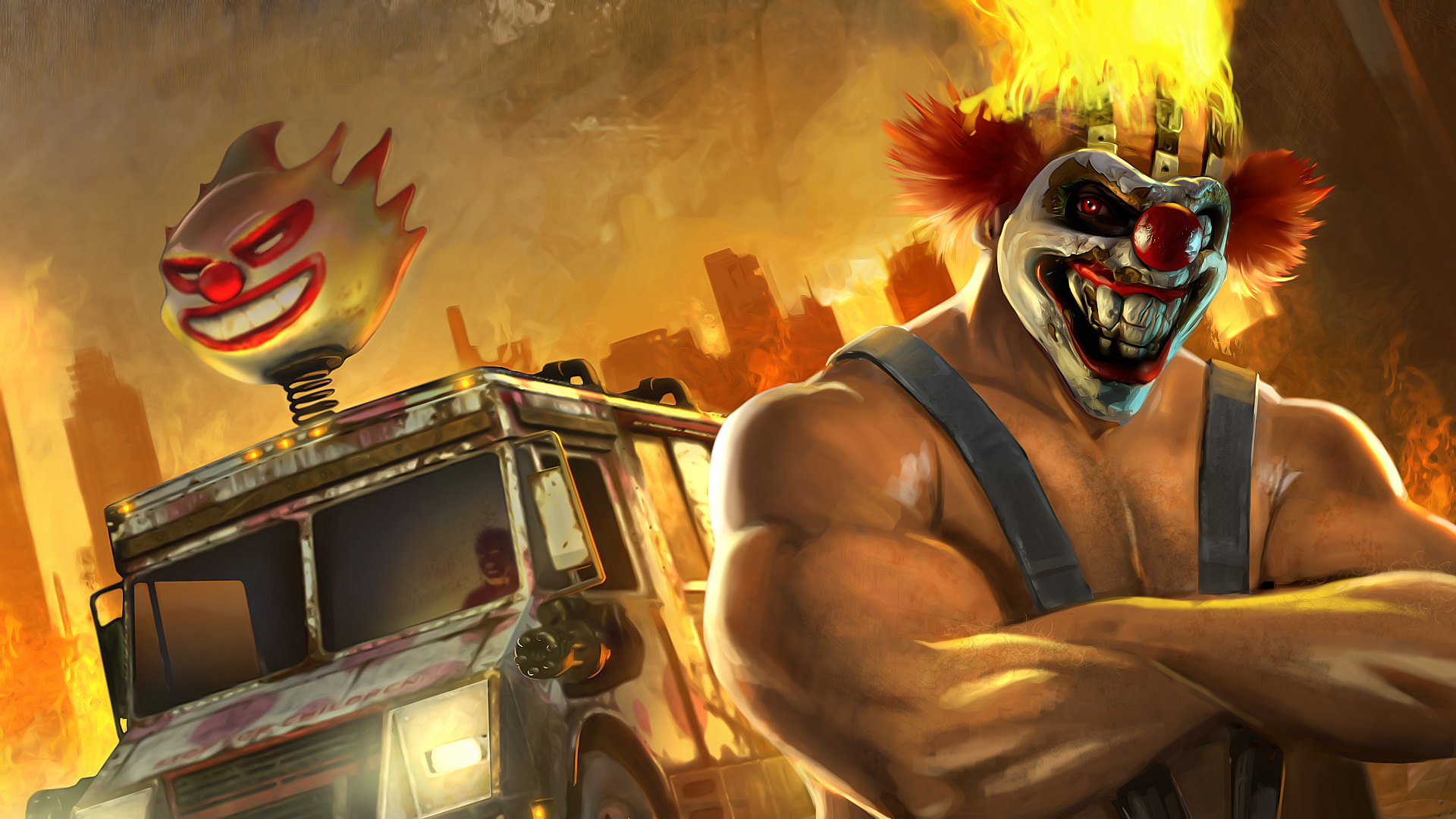 Twisted Metal series's Sweet Tooth Receives Adaptation | dorkaholics