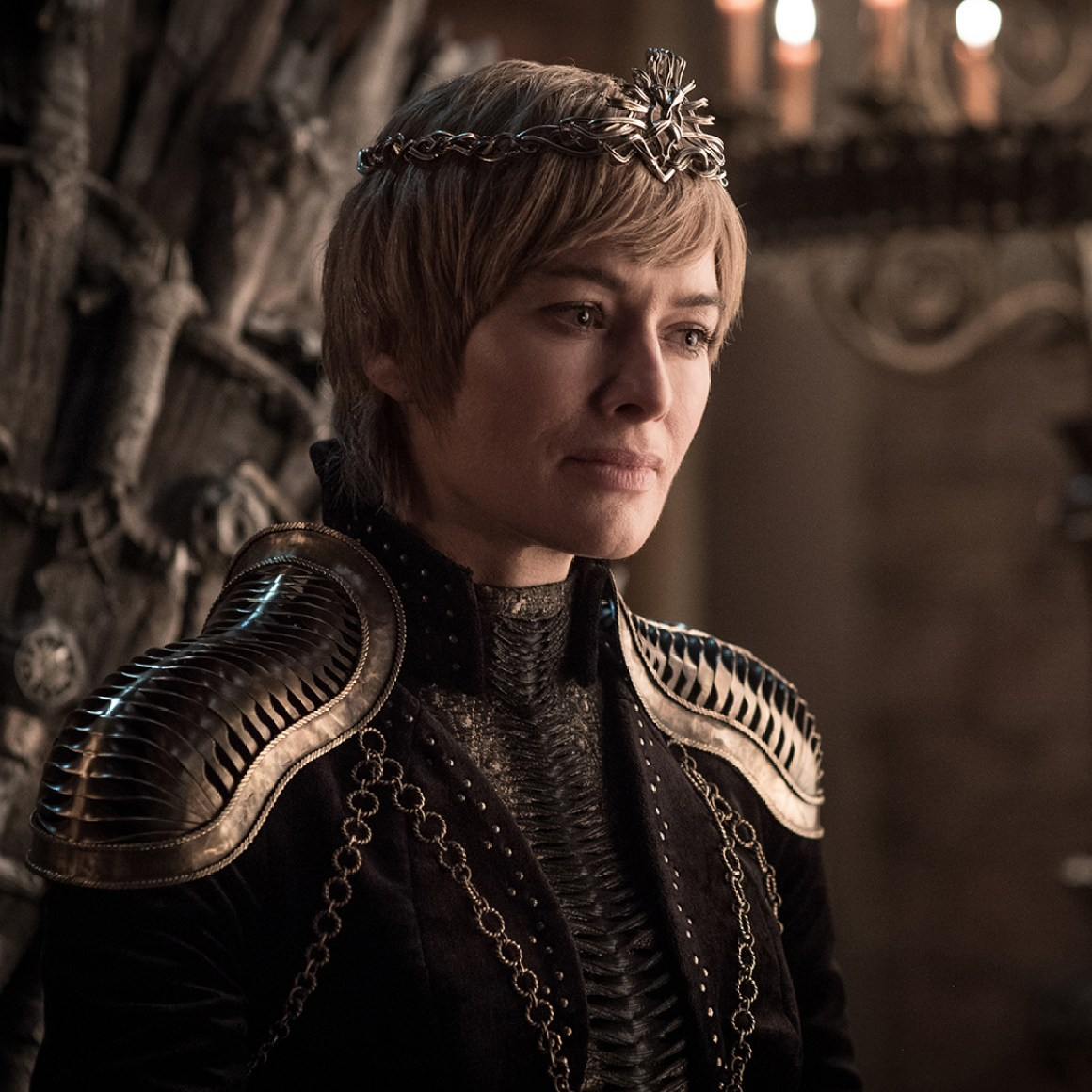 Lena Headey in the season eight premiere of Game of Thrones. Photo: Helen Sloan/HBO