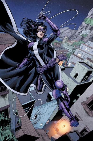 Huntress 4 PAGE 5 Pencils by To, Inks by Richard Zajac, Colours by Andrew Dalhouse. Photo: DC Comics
