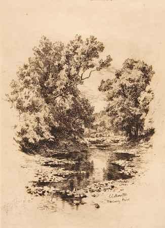 Charles Collins, Norbury Park, Dorking