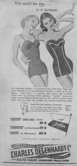 Charles Degenhardt Swimsuits Advert