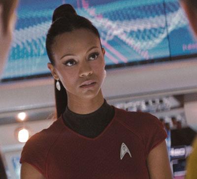 Zoe Saldana - Star Trek