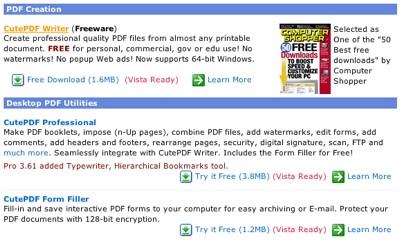 cute pdf for windows 7 64 bit free download