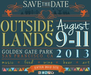 Outside Lands Festival 2013