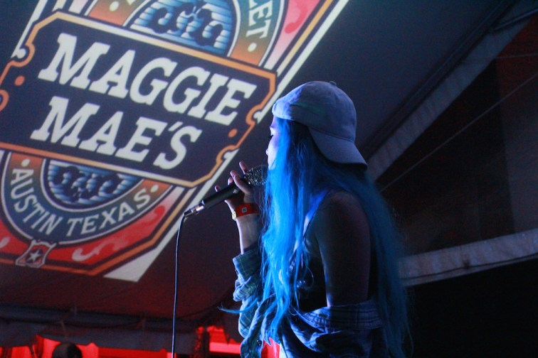 Halsey Performs at SXSW Music Festival 2015