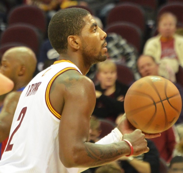 Kyrie Irving (photo credit: Erik Drost)