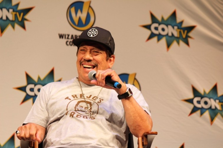 Danny Trejo at Wizard World Sacramento Comic Con 2015