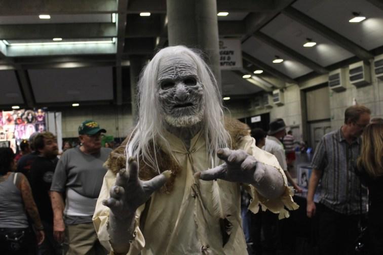 White Walker at Wizard World Sacramento Comic Con 2015