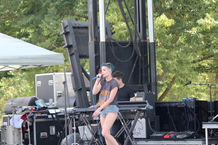 Halsey at City of Trees Summer Concert Event 2015