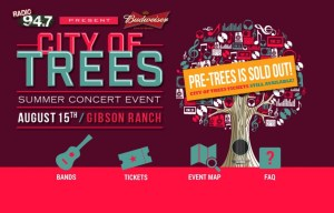 City of Trees Summer Concert Event 2015