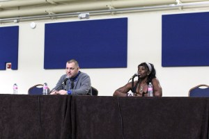 Ruthie Bolton at Sacramento Sports Collectors Show 2016