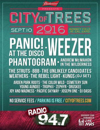 City of Trees 2016