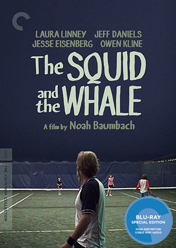 The Squid and the Whale Blu-ray Box Art