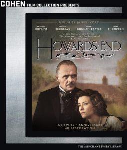Howards End Blu-ray Box Art