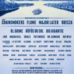 SnowGlobe Music Festival 2016 Poster