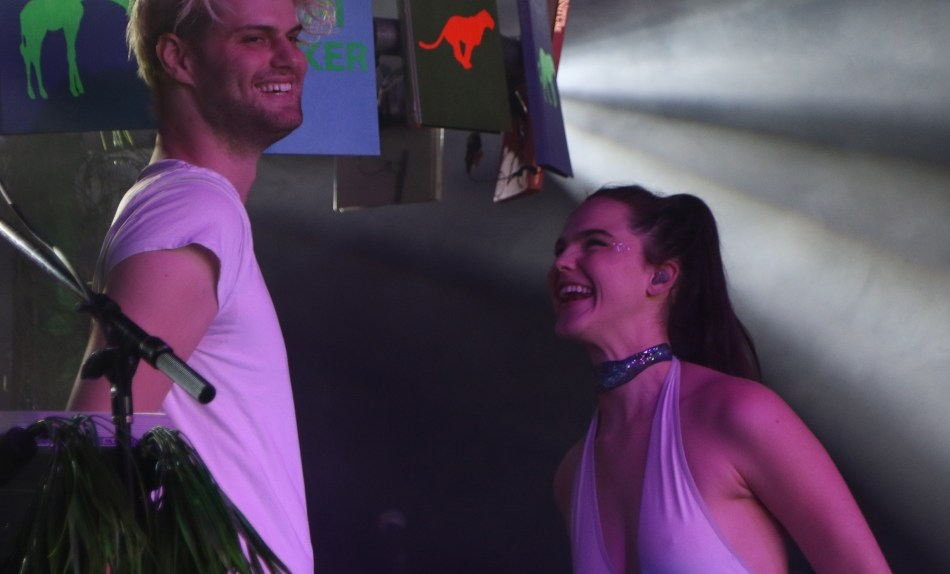 Sofi Tukker at SXSW Music Festival 2017 (photo: Tan The Man)