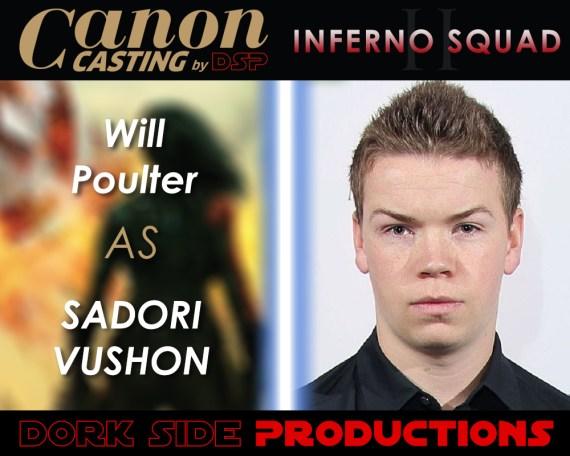 Will Poulter as Sadori Vushon