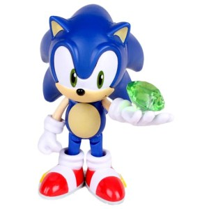 Sonic with a Chaos Emerald – Sonic the Hedgehog 3.5″ Figure