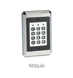 9212ilw illuminated keypad readers rci ead [ 1200 x 1200 Pixel ]