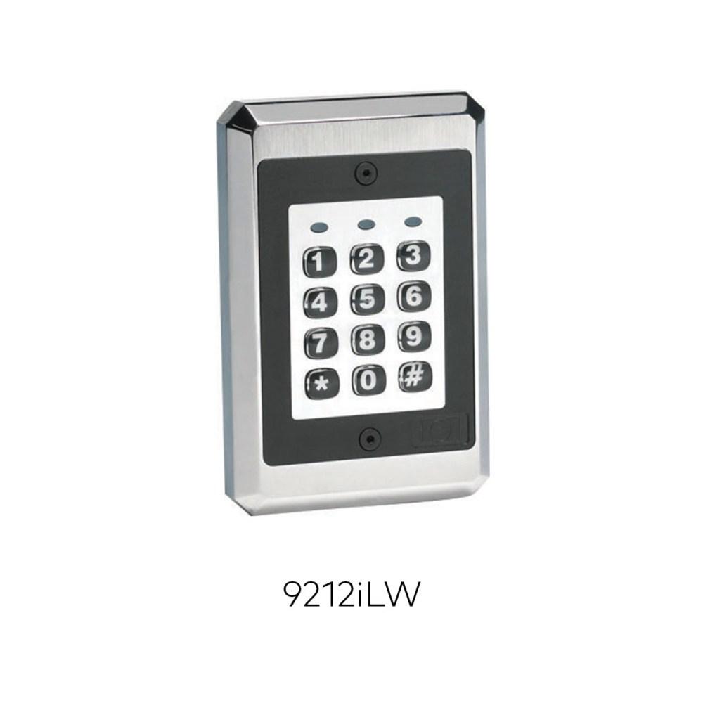 medium resolution of 9212ilw illuminated keypad readers rci ead