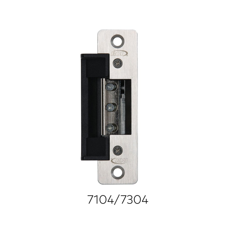 medium resolution of 7 series 7104 7304 electric strikes rci ead