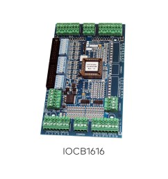 iocb1616 peripherals controllers keyscan ead [ 1200 x 1200 Pixel ]